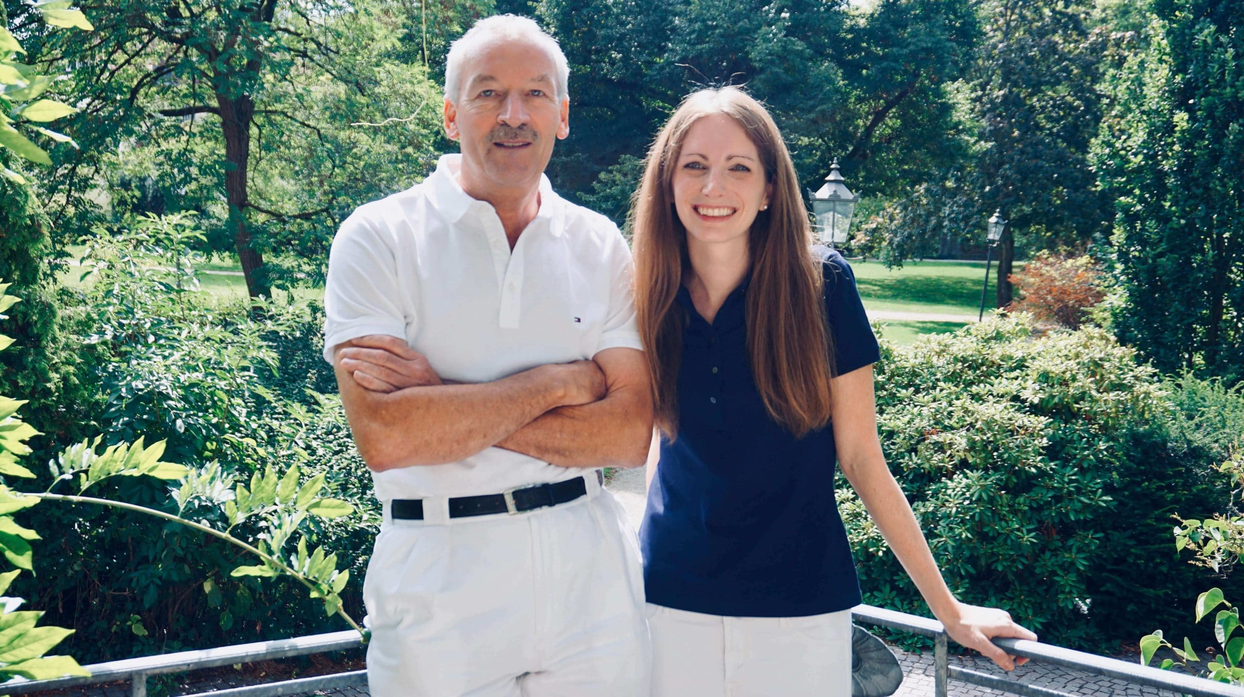 Dr. Schlachter und Dr. Sebald